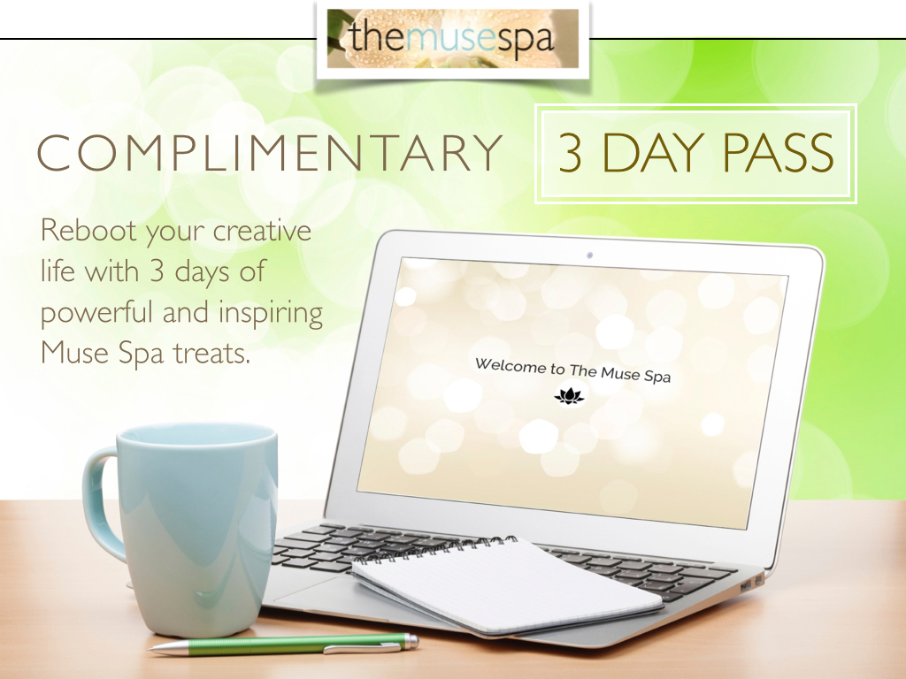 Complimentary 3 day pass the muse spa for 3 day spa retreat