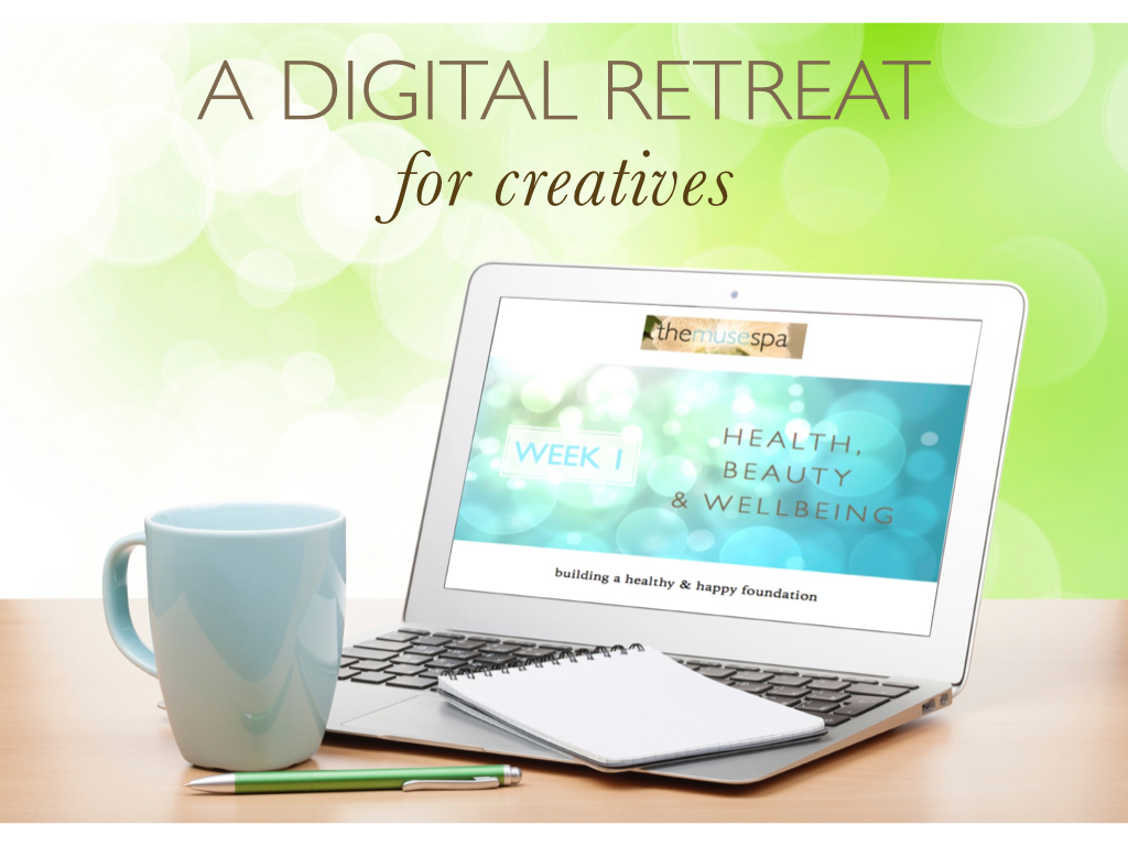 Digital Retreat laptop