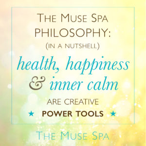 muse spa philosophy health happiness inner calm