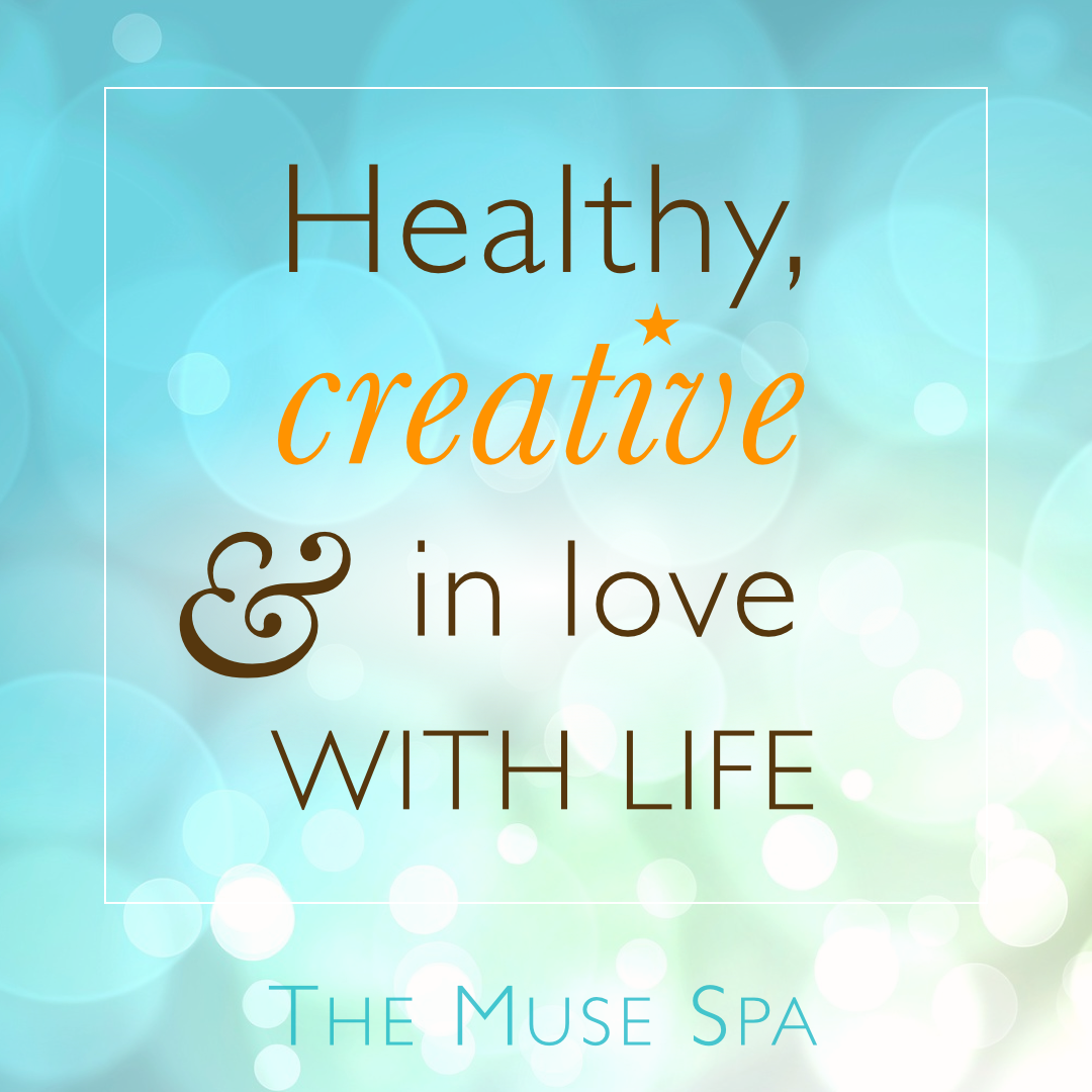 healthy creative in love with life