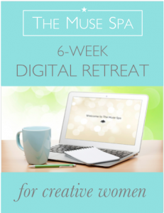 The Muse Spa digital retreat for creative women