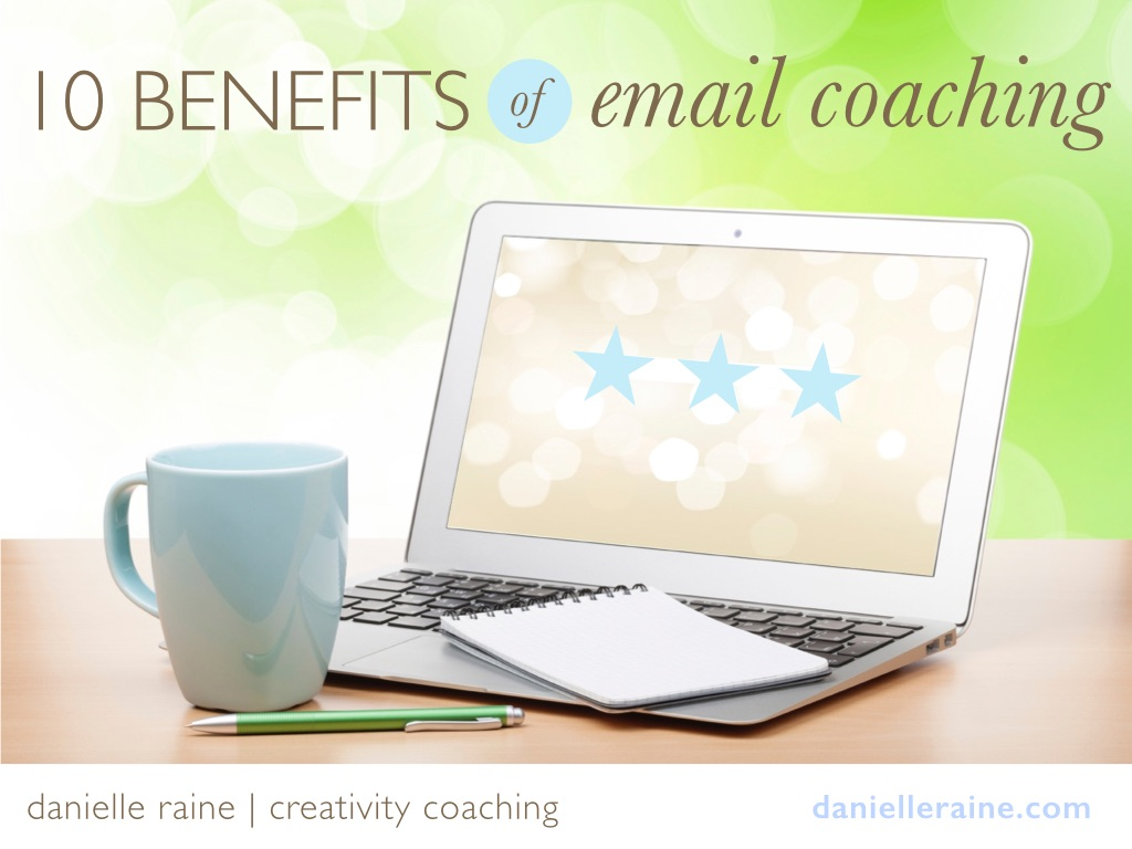 10 benefits of email coaching danielle raine
